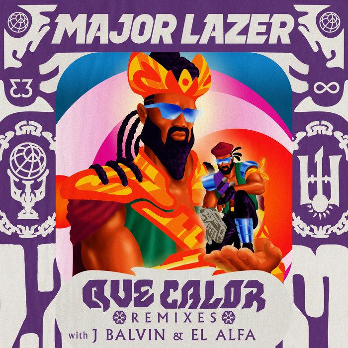 MAJOR LAZER with J BALVIN/EL ALFA - Que Calor (Remixes)