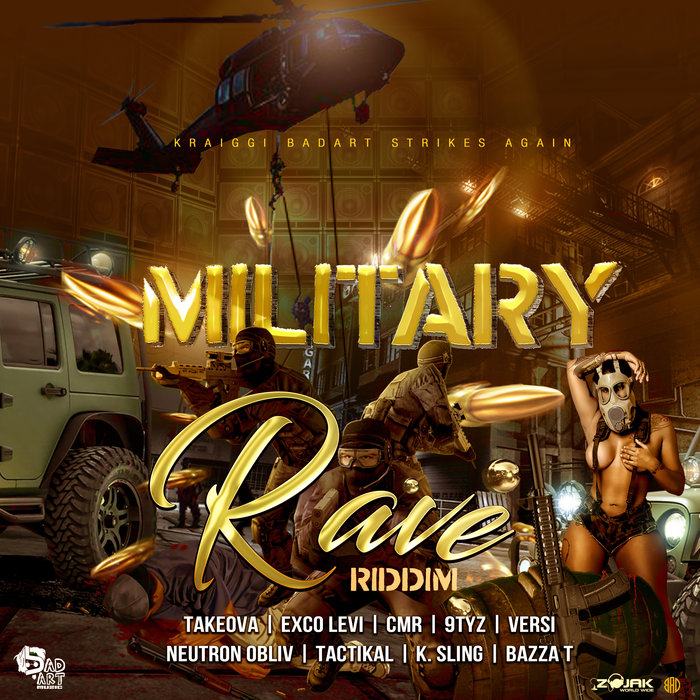 KRAIGGI BADART/VARIOUS - KraiGGi BaDArT Presents: Military Rave Riddim