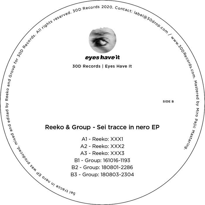 REEKO/GROUP - Sei Tracce In Nero