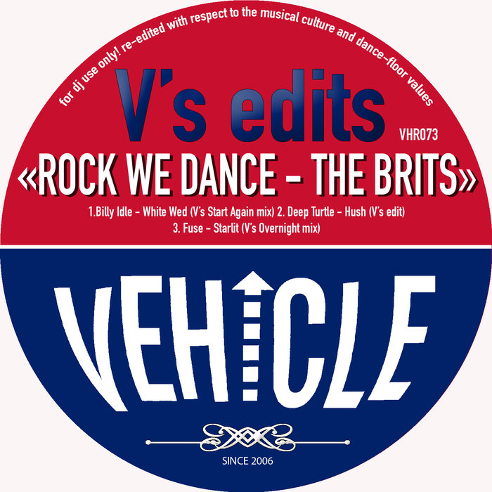 BILLY IDLE/DEEP TURTLE/FUSE - V's Edits - Rock We Dance - The Brits