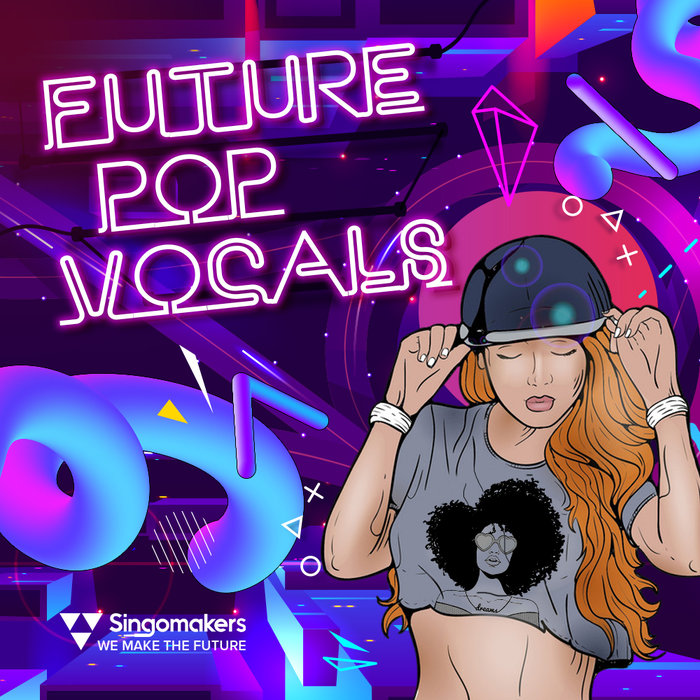 SINGOMAKERS - Future Pop Vocals (Sample Pack WAV/APPLE/LIVE/REASON)