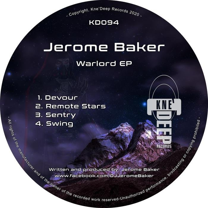 JEROME BAKER - Warlord EP