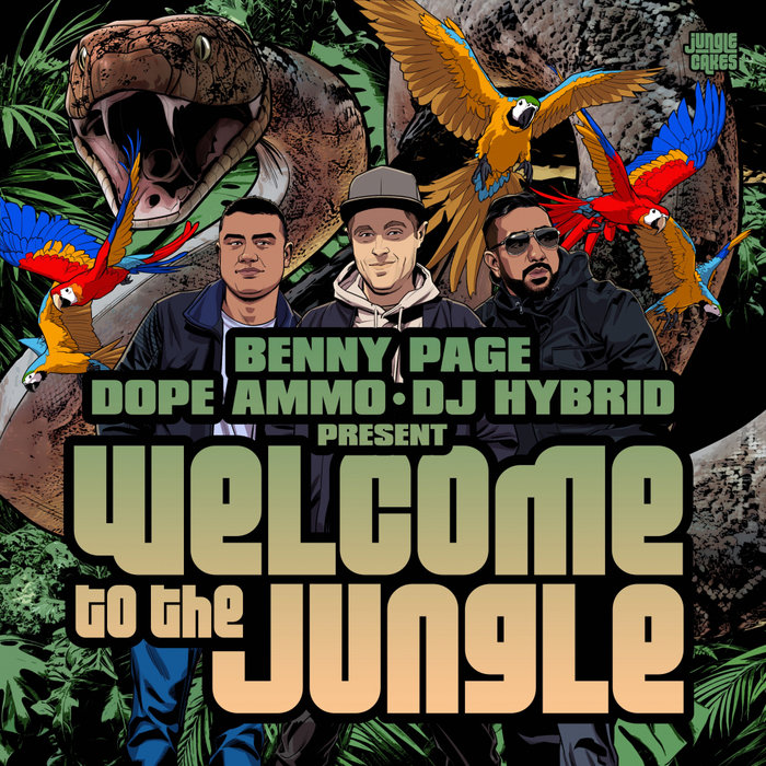 VARIOUS - Benny Page, Dope Ammo & DJ Hybrid Presents: Welcome To The Jungle