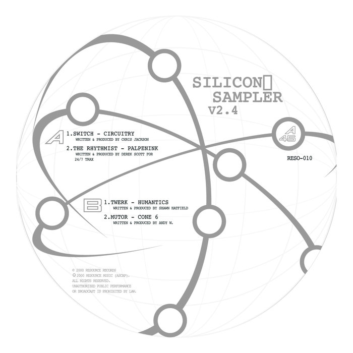 SWITCH/THE RHYTHMIST/TWERK/MUTOR - Silicon Sampler V2.4