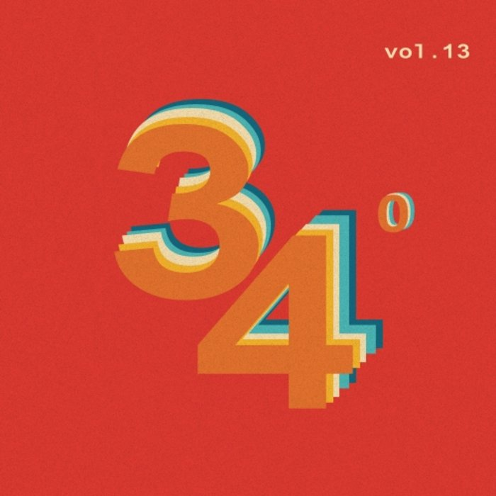 VARIOUS - 34 Degrees Vol 13