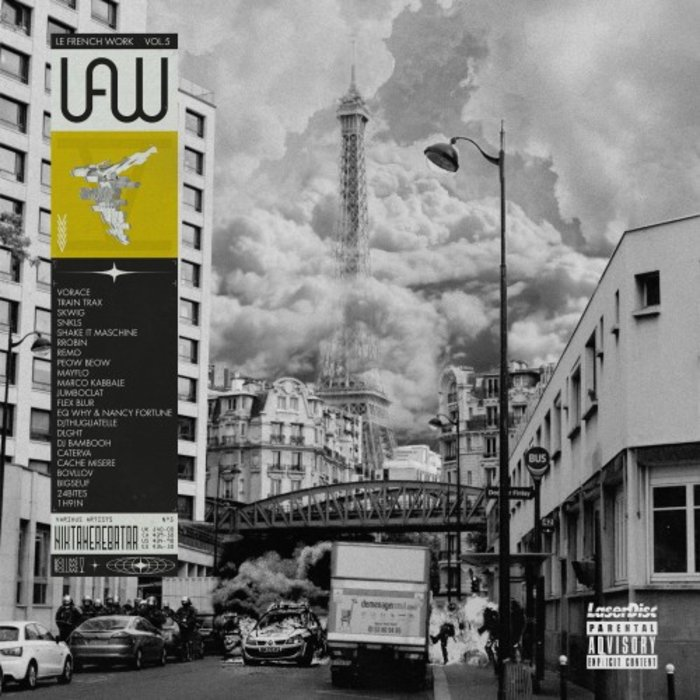 VARIOUS - Le French Work Vol 5