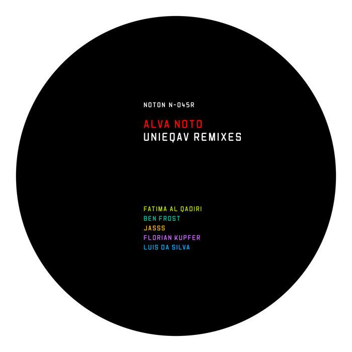 ALVA NOTO - Unieqav Remixes