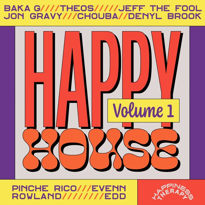 VARIOUS - Happy House Vol 1