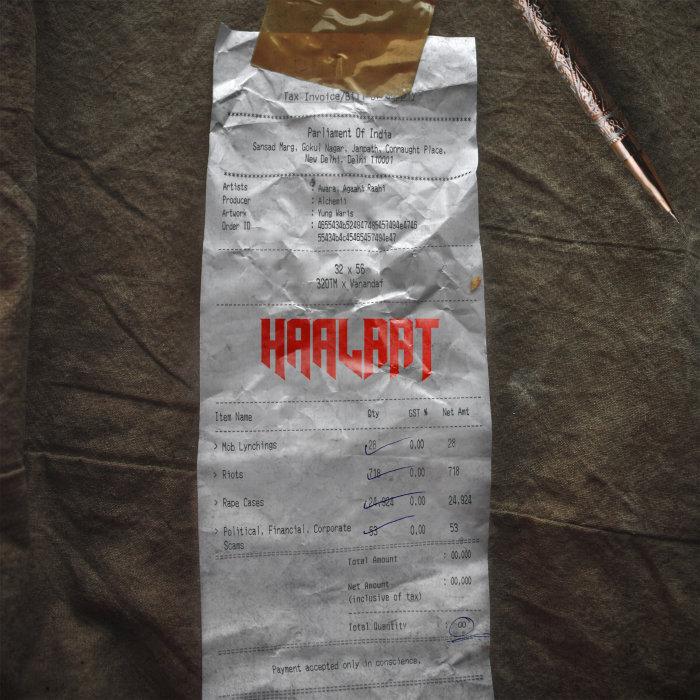 AGAAHI RAAHI feat AWARA & ALCHEMII - Haalaat