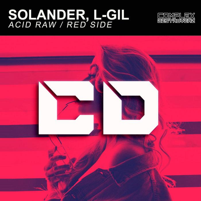 SOLANDER/L-GIL - Acid Raw/Red Side