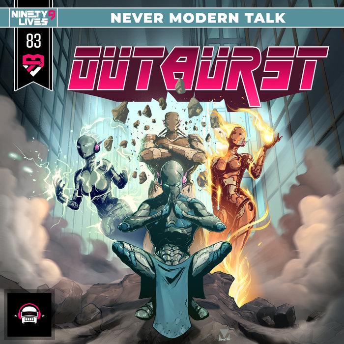 NEVER MODERN TALK - Outburst