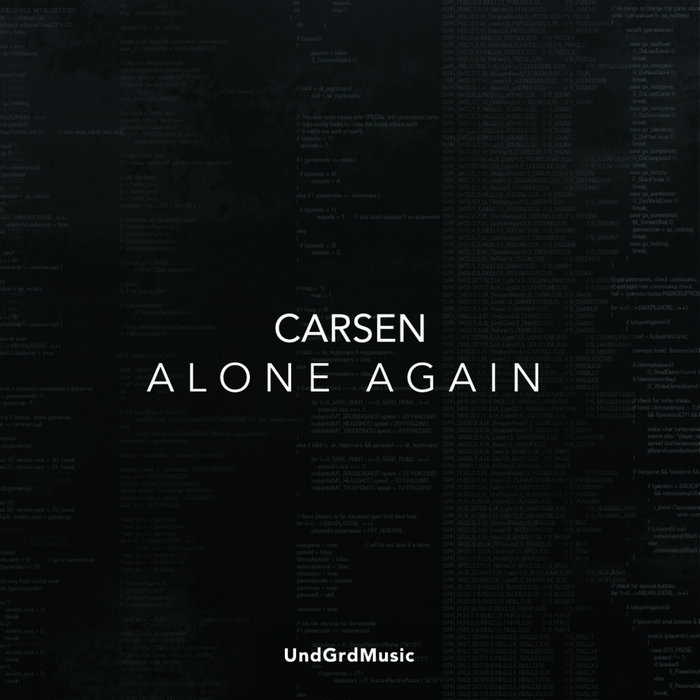 CARSEN - Alone Again