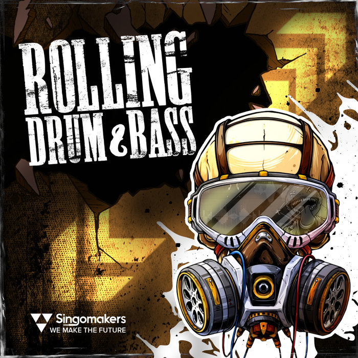 SINGOMAKERS - Rolling DnB (Sample Pack WAV/APPLE/LIVE/REASON)