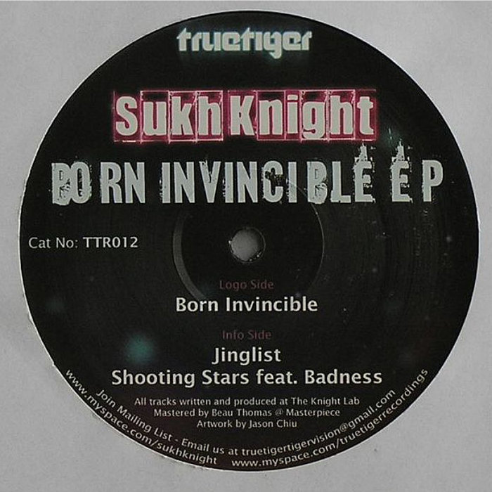 SUKH KNIGHT - Born Invincible EP