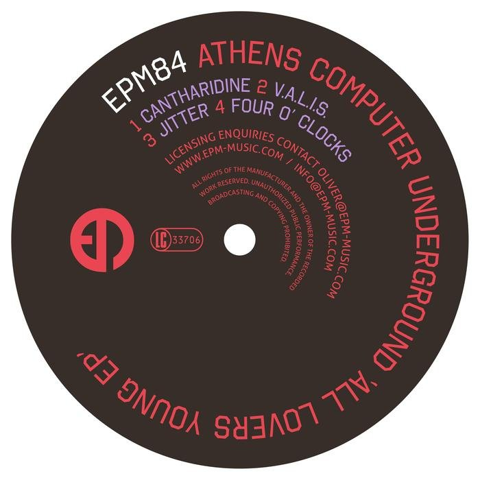 ATHENS COMPUTER UNDERGROUND - All Lovers Young EP