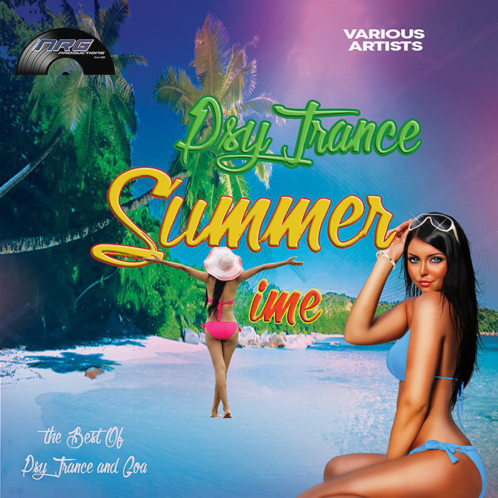 VARIOUS - Summer Psy Trance & Goa Time
