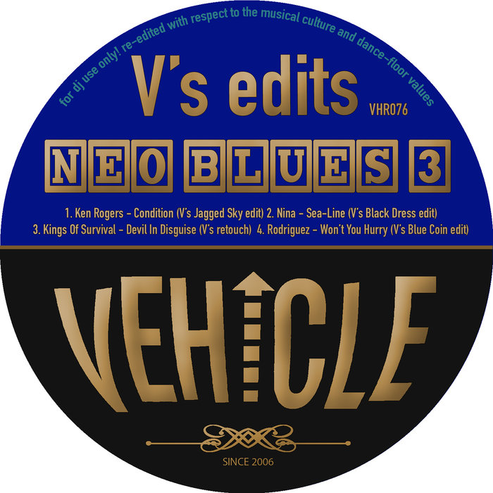 VARIOUS/V'S EDITS - Neo Blues 3