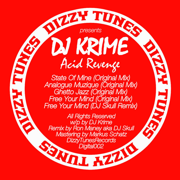DJ KRIME - Acid Revenge