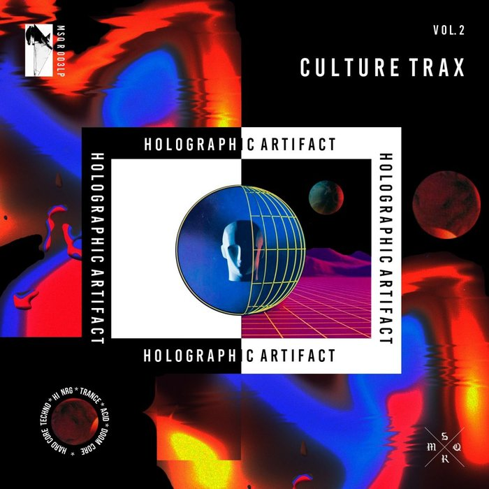 CULTURE TRAX - Holographic Artifact