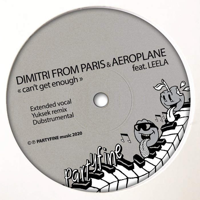 AEROPLANE & DIMITRI FROM PARIS feat LEELA - Can't Get Enough