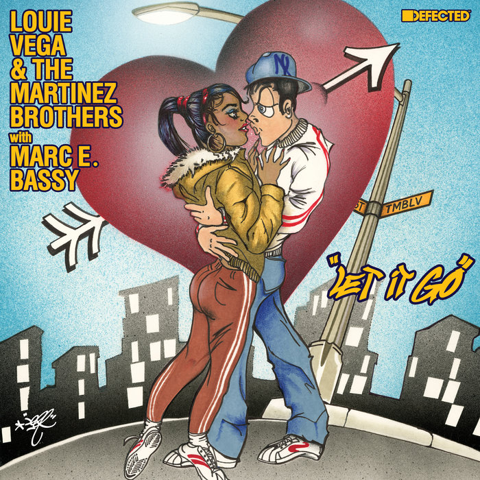 LOUIE VEGA/THE MARTINEZ BROTHERS feat MARC E BASSY - Let It Go