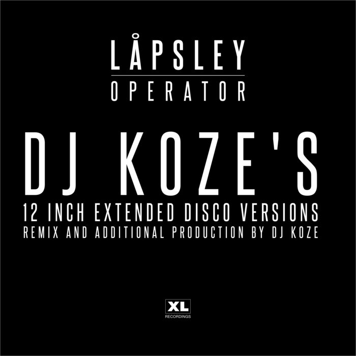 LAPSLEY - Operator (DJ Koze's Disco Versions)