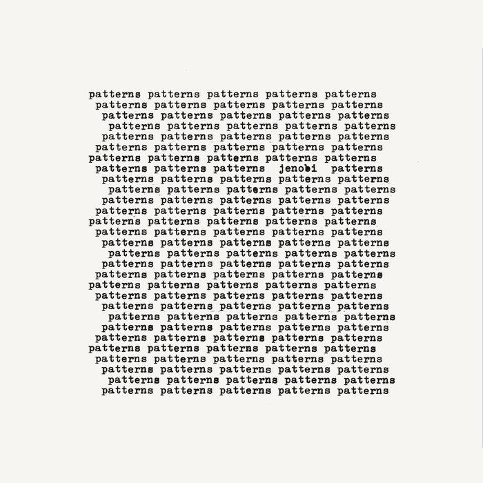 JENOBI - Patterns (Explicit)