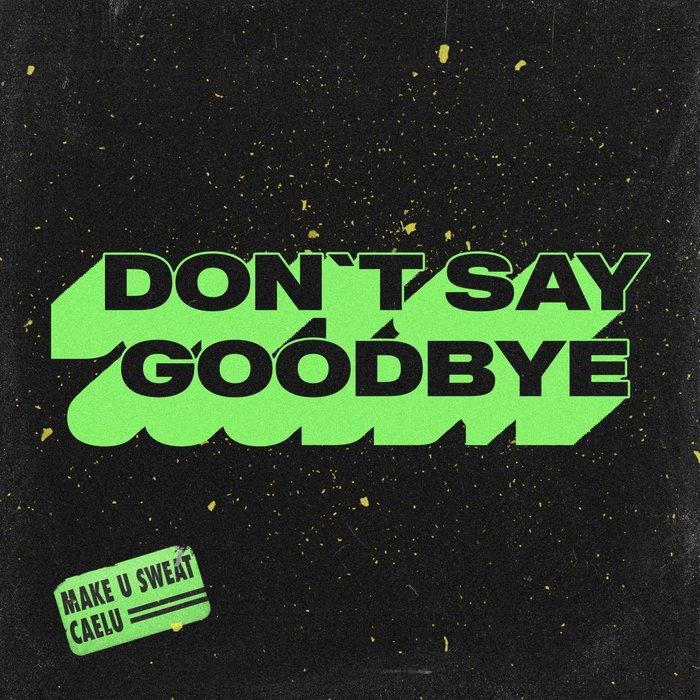 MAKE U SWEAT/CAELU - Don't Say Goodbye