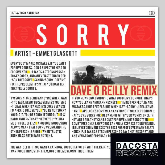 EMMET GLASCOTT - Sorry