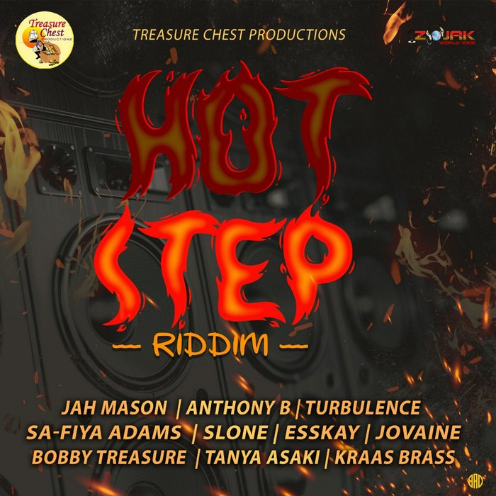 VARIOUS - Hot Step Riddim