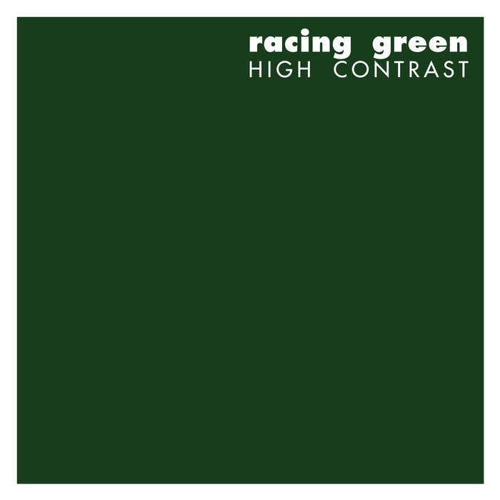 HIGH CONTRAST - Racing Green