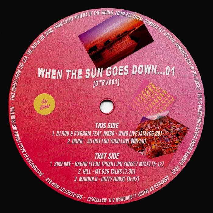 VA – When The Sun Goes Down…01 [Dancing Tramonto]