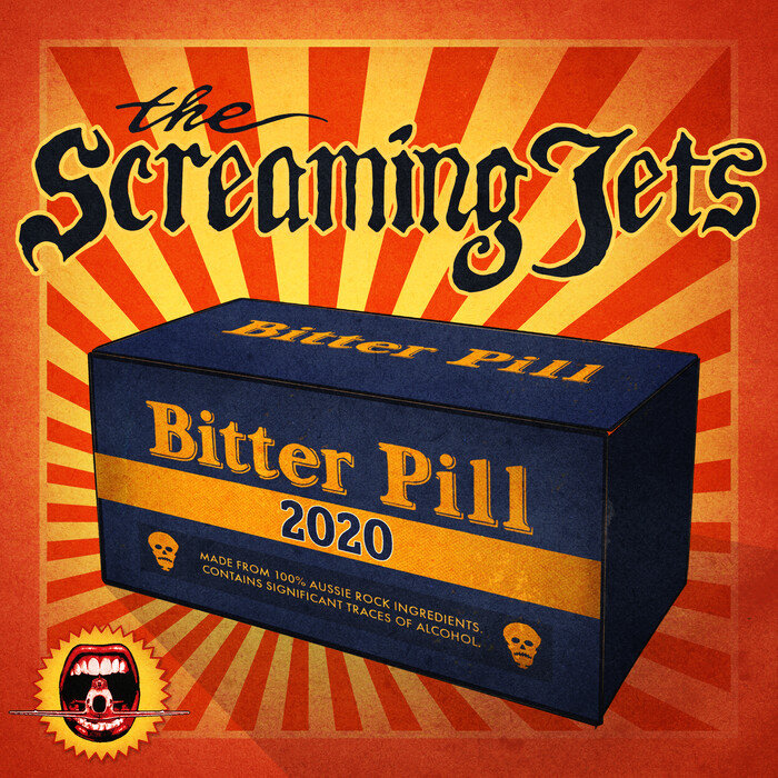 THE SCREAMING JETS - Bitter Pill