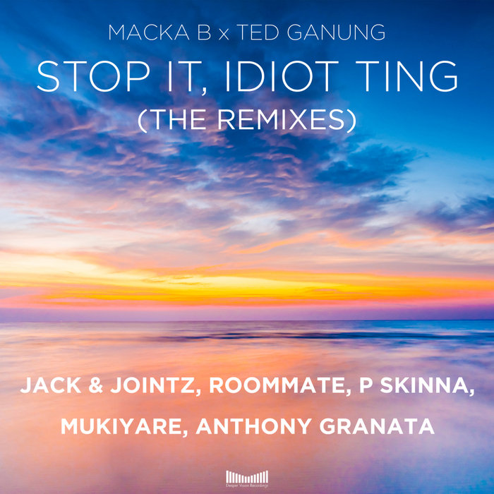 MACKA B/TED GANUNG - Stop It, Idiot Ting (The Remixes)