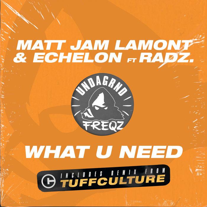 MATT JAM LAMONT/ECHELON/RADZ - What U Need