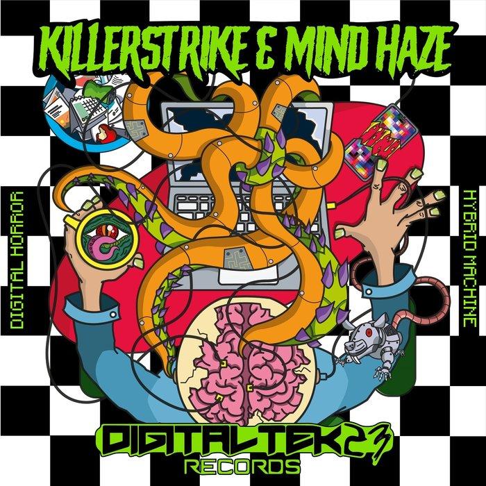KILLERSTRIKE/MIND HAZE - Digital Horror