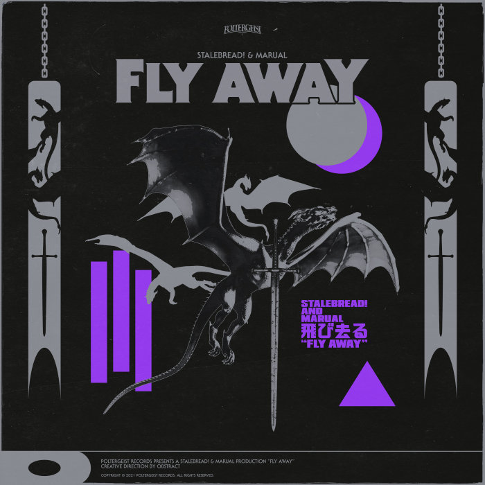 STALEBREAD!/MARUAL FEAT STRANGER - Fly Away