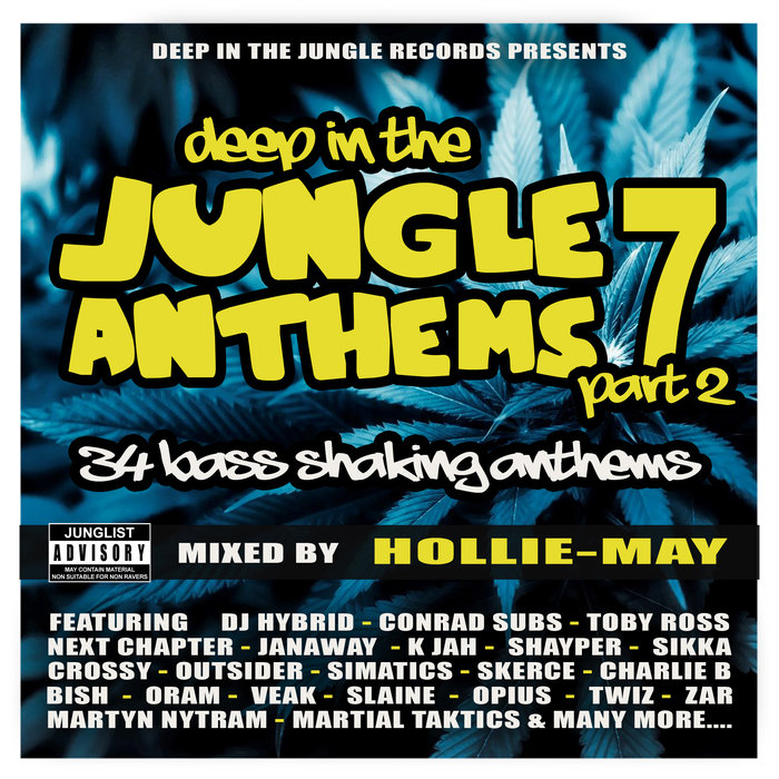 HOLLIE-MAY/VARIOUS - Deep In The Jungle Anthems 7 Part 2 - Mixed by Hollie-May
