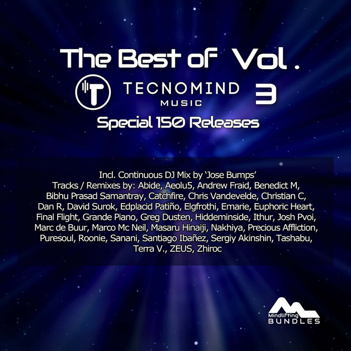JOSE BUMPS/VARIOUS - The Best Of Tecnomind Music Vol 3 (Special 150 Releases)