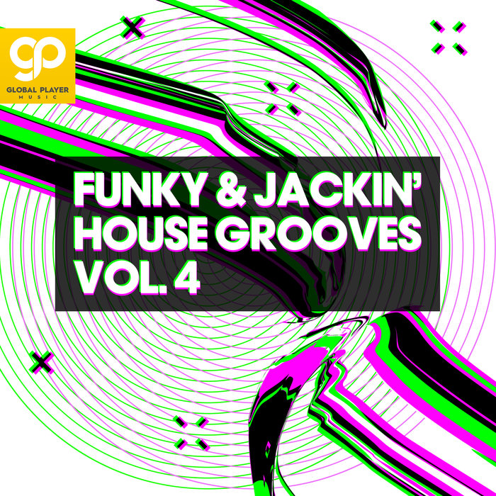 VARIOUS - Funky & Jackin' House Grooves Vol 4