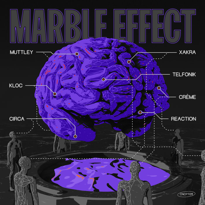 VARIOUS - Marble Effect