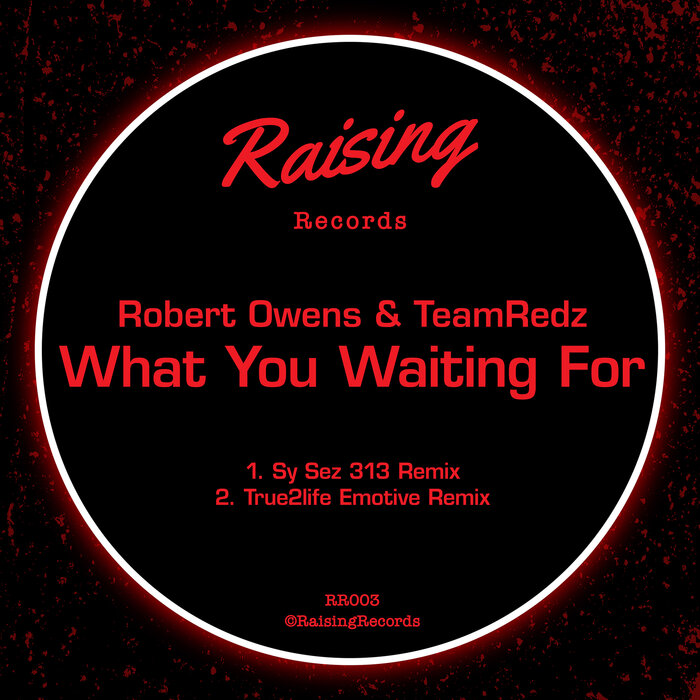Robert Owens & TeamRedz – What You Waiting For [Raising Records]