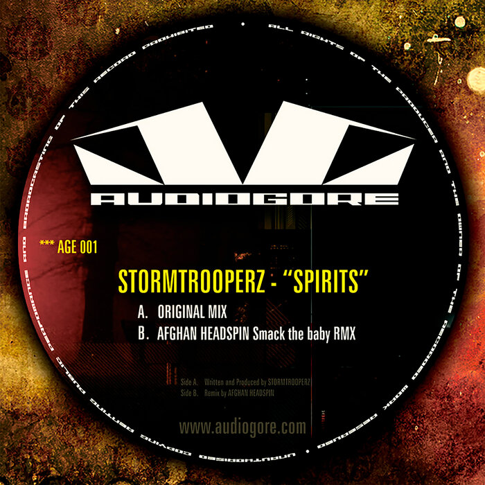 STORMTROOPERZ/AFGHAN HEADSPIN - Spirits