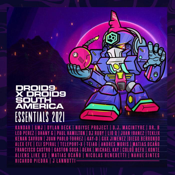 D.J. MACINTYRE/DR. B (AR)/VARIOUS - Droid9 X Droid9 South America - Essentials 2021