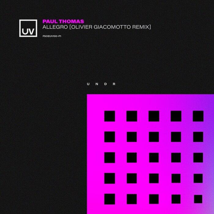 Paul Thomas - Allegro (Olivier Giacomotto Extended remix)