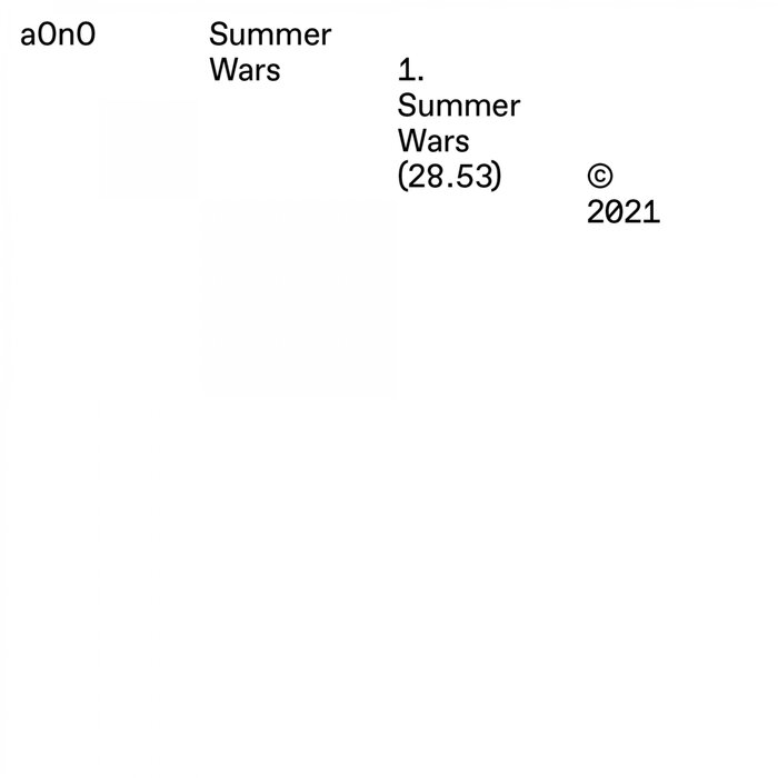A0n0 - Summer Wars