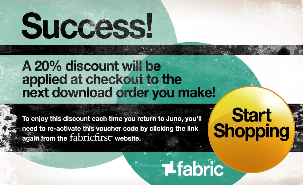 Success! A 20% discount will be applied at checkout to the next download order you make. Start Shopping