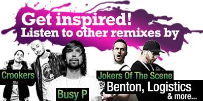 Have your remix released alongside Crookers, Busy P, Siriusmo & more...